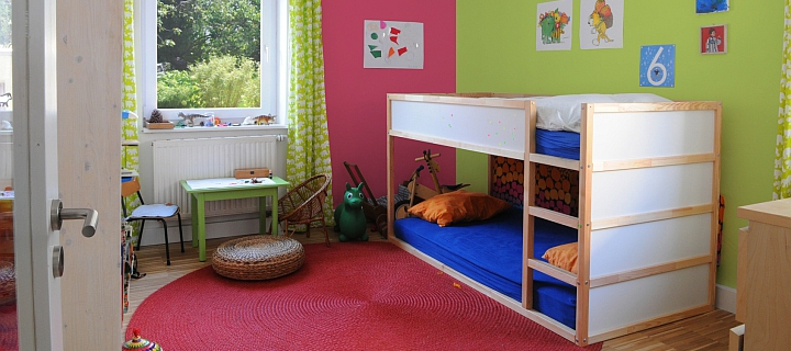 kinderbett fabulous in babybett u kinderbett ohne bettset. Black Bedroom Furniture Sets. Home Design Ideas